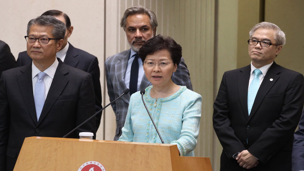 Trung Quốc: 470.000 người dân Hong Kong tuần hành phản đối bạo lực